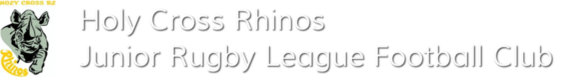 Holy Cross 'Rhinos' Junior Rugby League Football ClubRhinofooty.com